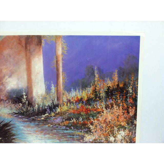 """Traditional 1989 """"Sante Fe Trail"""" Jamie Carter Limited Edition Print For Sale - Image 3 of 6"""
