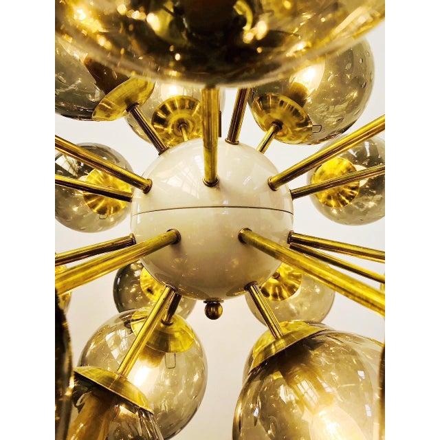 Ovale Sputnik Chandelier by Fabio Ltd For Sale - Image 9 of 12