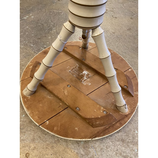 1800's 3 Legged Round Gueridon Table For Sale - Image 11 of 13
