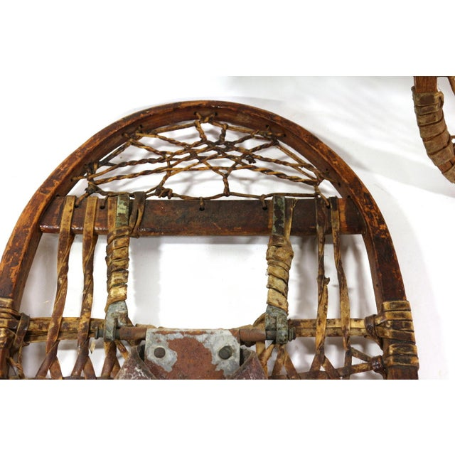 1900s Snowshoes - Image 6 of 8