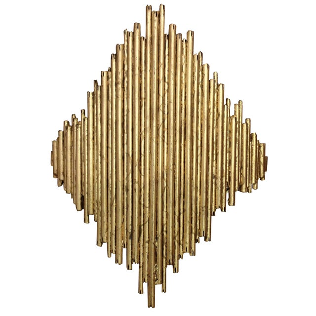 Arteriors Home Gold Wall Sconce - Image 1 of 7