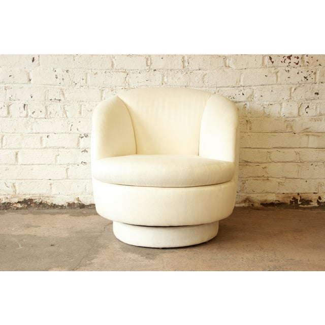 On Hold - Milo Baughman for Thayer Coggin Swivel Club Chair - Image 2 of 8