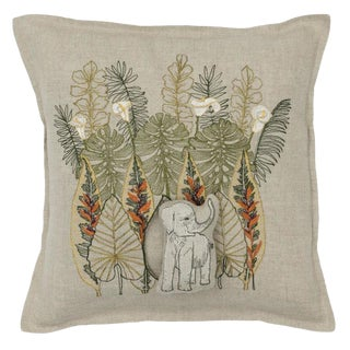 Jungle Elephant Pocket Pillow