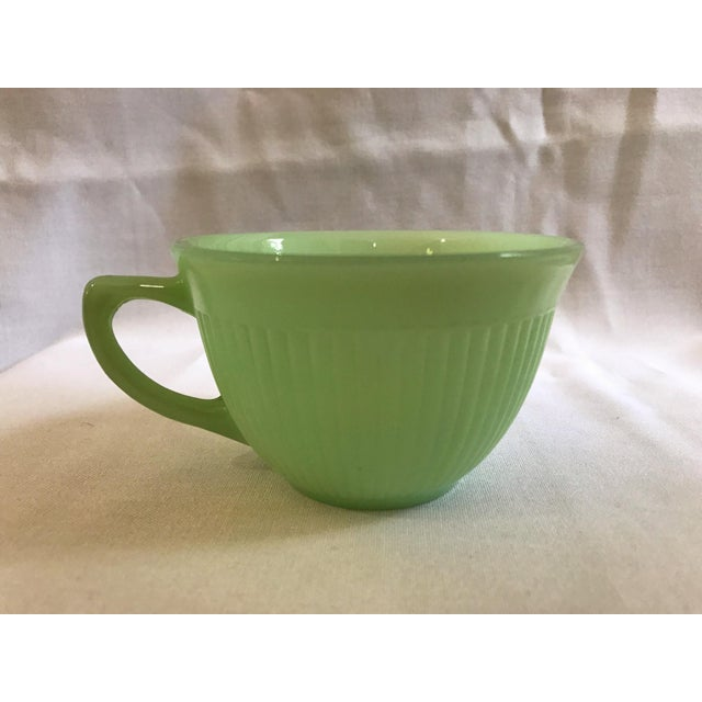 Jadeite Fire King Anchor Hocking Cup & Saucer Set - Image 5 of 9