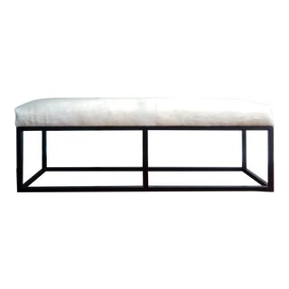 Gambrell Renard Cowhide Bench For Sale