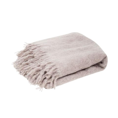 Classic Mink Mohair Throw For Sale