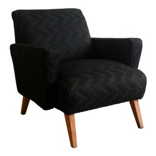Vintage Mid Century Modern Jens Risom for Knoll Lounge Chair For Sale