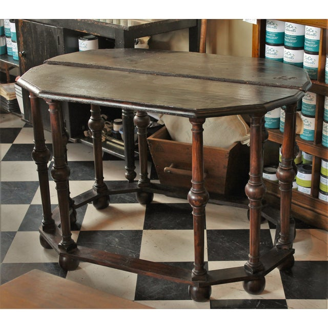French Antique Console Tables - Pair - Image 2 of 5
