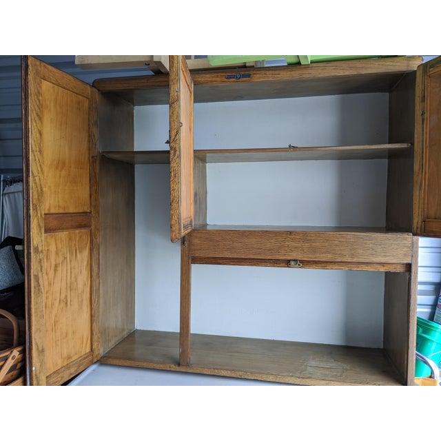Antique Hoosier Cabinet For Sale - Image 4 of 5