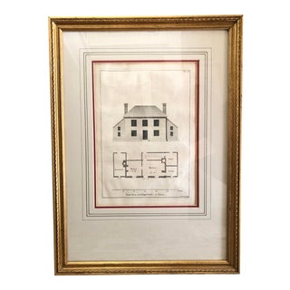 Antique Architectural Engraving by Paul Fourdrinier For Sale