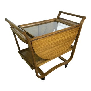 Dunbar Mid-Century Bar Cart
