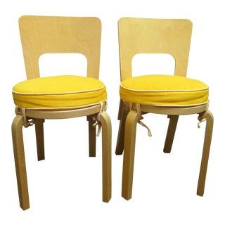 Artek Alvar Aalto 66 Chairs- A Pair For Sale