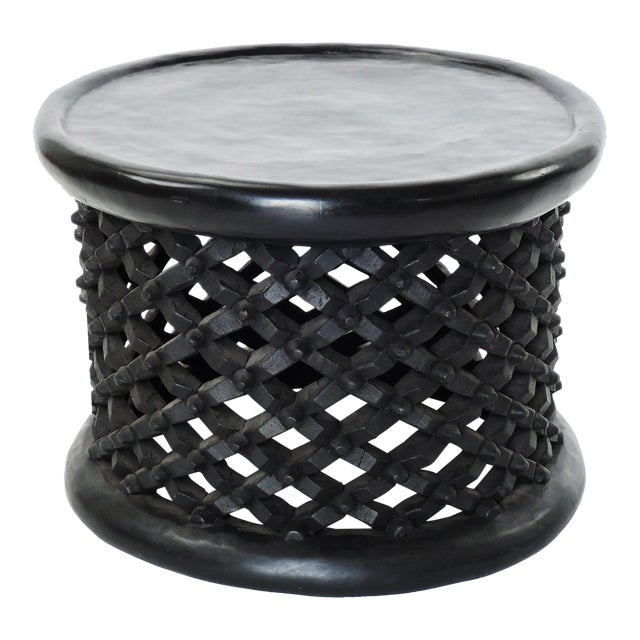 Bami Spider Tables Hand Carved Solid African Hardwood Large Size