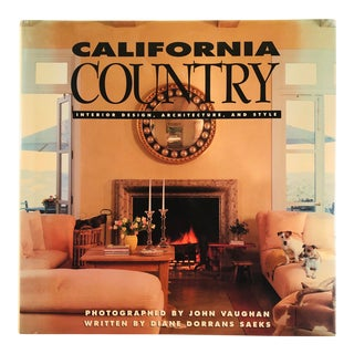 """1992 """"California Country"""" First Edition Interiors & Architecture Book For Sale"""