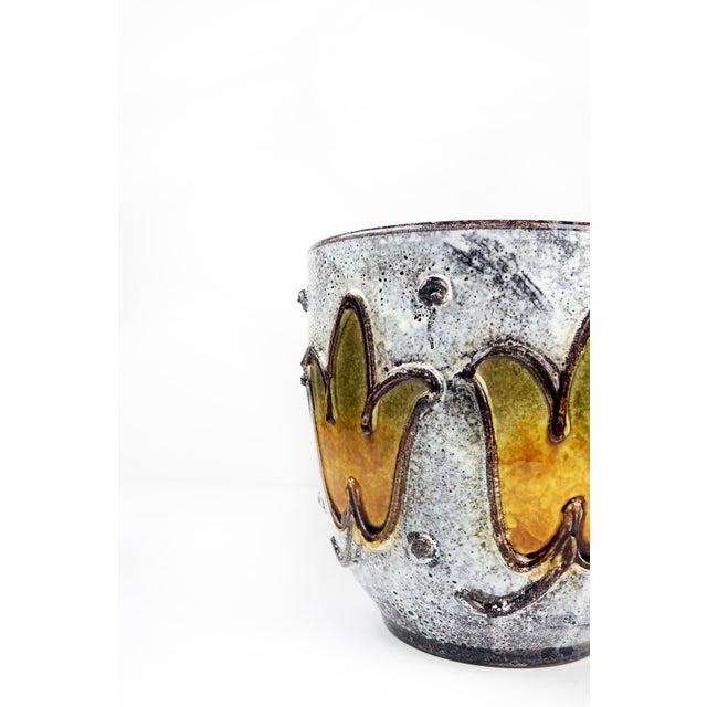 Italian 1960s Italian Ceramic Planter For Sale - Image 3 of 9
