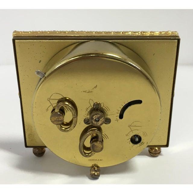 Elgin West Germany Rhinestone Alarm Clock - Image 6 of 7
