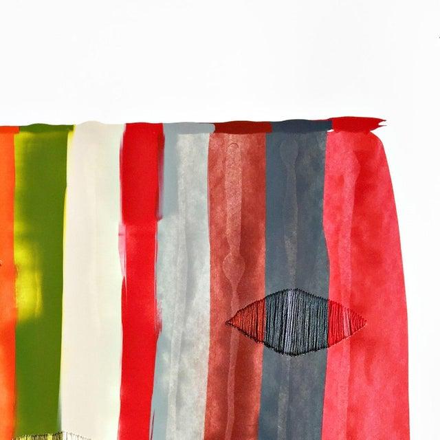 "Abstract ""Fils I Colors Cccxliv"" Original Artwork by Raul De La Torre For Sale - Image 3 of 6"