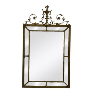 Friedman Brothers Vintage Adam Style Gold Mirror For Sale