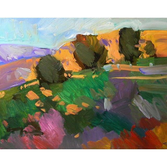 Jose Trujillo Contemporary Landscape Oil Painting For Sale