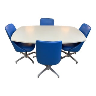 Cromecraft Dining Table & Chairs For Sale