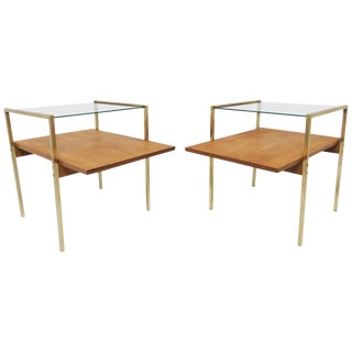Milo Baughman Pair of End Tables for Murray Furniture, Circa 1950s For Sale