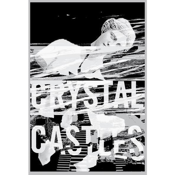 Contemporary 2017 Contemporary Music Poster - Crystal Castles For Sale - Image 3 of 3