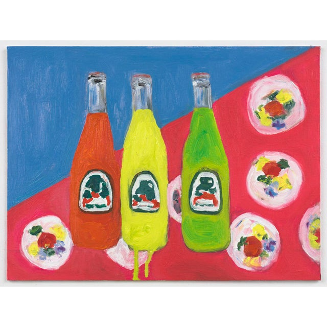 """""""3 Sodas"""" Oil Painting For Sale - Image 4 of 4"""