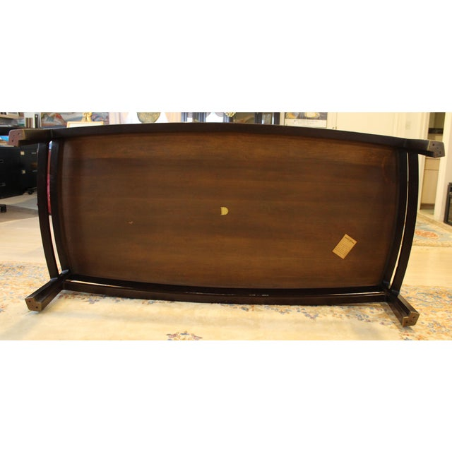 Mid-Century Modern Wormley for Dunbar Rare Mahogany Rectangular Coffee Table For Sale In Detroit - Image 6 of 13
