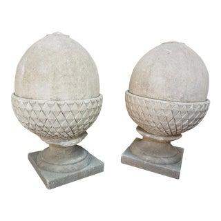 Limestone Acorns - A Pair For Sale