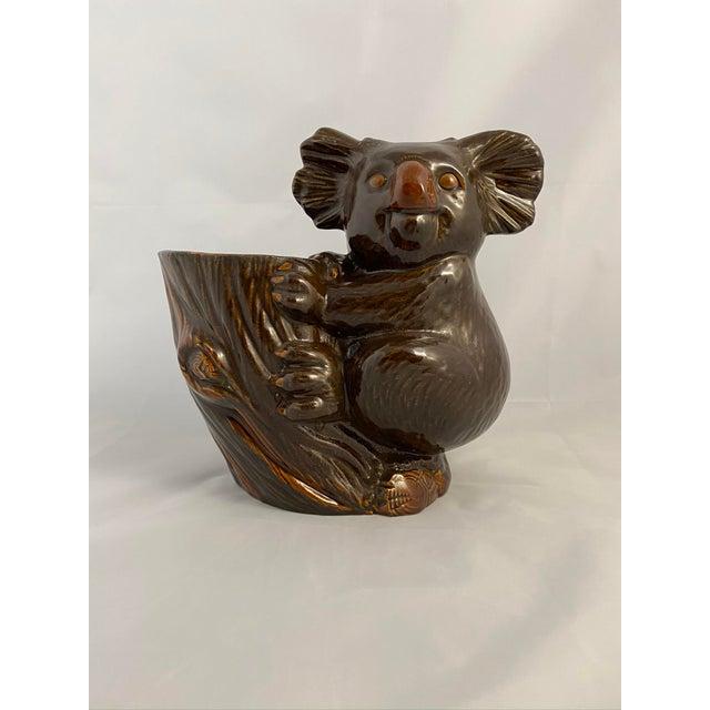 Haeger Koala Planter Brown For Sale - Image 13 of 13
