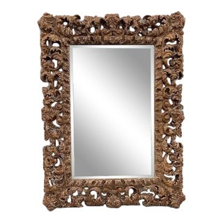 1960's Theodore Alexander Carved Mirror For Sale