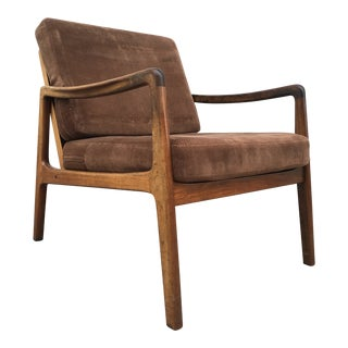 1960s Danish Modern Ole Wanscher Rosewood Arm Chair