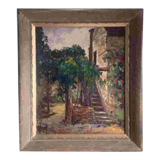 Mid 20th Cent. American Painting For Sale