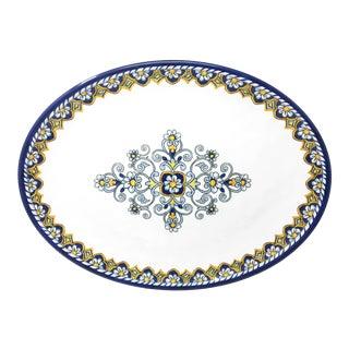 """Sorrento 16"""" Melamine Oval Platter, Set of 2 For Sale"""