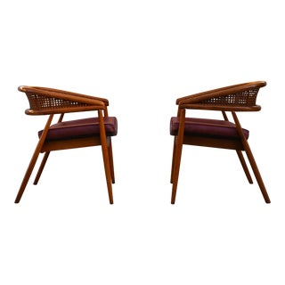 "James Mont ""King Cole"" Armchairs - A Pair"