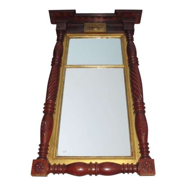 Large Federal Style Mirror For Sale