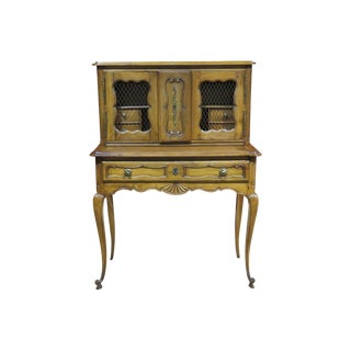 19th C. Country French Writing Desk For Sale