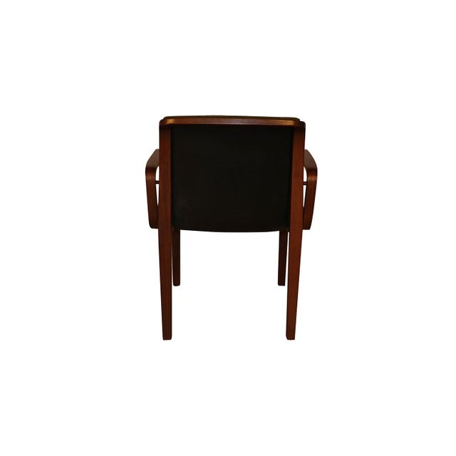 Mid-Century Modern Mid Century Bill Stephens Knoll Bentwood Chair For Sale - Image 3 of 11