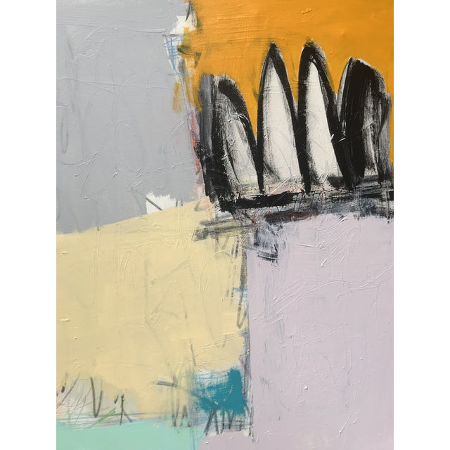 "2020s Sarah Trundle, Contemporary Abstract Painting, ""Altered States"" For Sale - Image 5 of 5"
