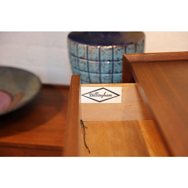 Dillingham Walnut Dresser For Sale - Image 4 of 10