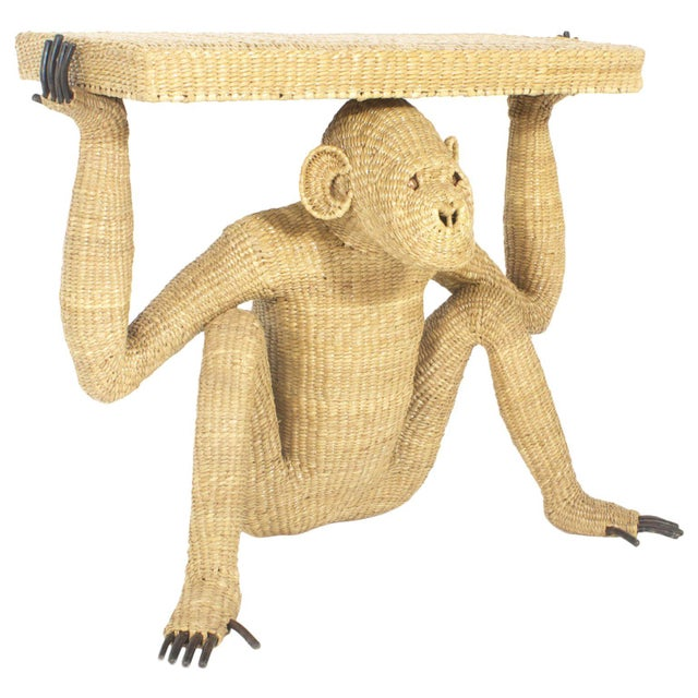Mario Torres Chimpanzee or Monkey Console For Sale - Image 9 of 9