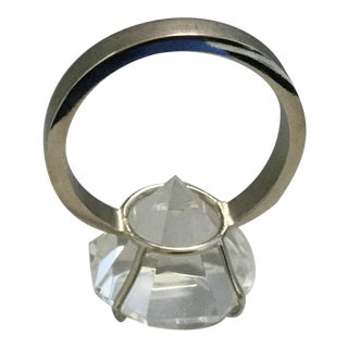 Ring Diamond Shaped Paper Weight For Sale
