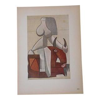 Vintage Ltd. Ed. Modernist Lithograph-Pablo Picasso- c.1946-Folio Size For Sale