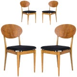 Image of Set of Four Danish Dining Chairs For Sale
