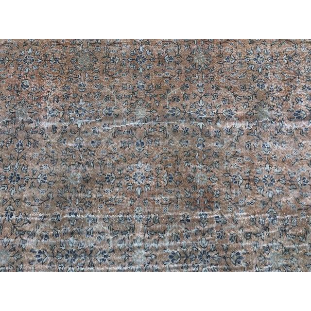 1960s 1960s Turkish Oversize Handmade Carpet For Sale - Image 5 of 10