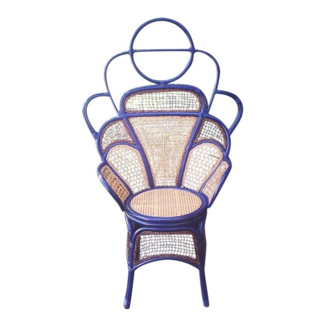 Anthropologie Peacock Chair For Sale