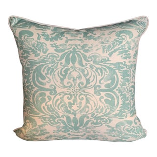 Contemporary Quadrille China Seas San Marco Pillow For Sale