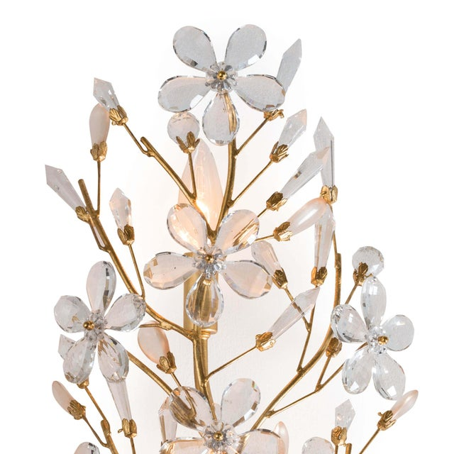 Cheshire Sconce in Gold Leaf For Sale - Image 4 of 5