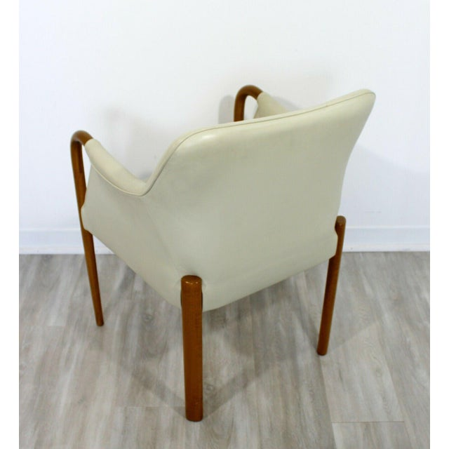 Contemporary Contemporary Modern Set 8 Giorgetti Progetti Italian Wood Dining Armchairs 1990s For Sale - Image 3 of 7
