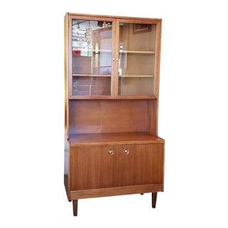 Mid Century Modern Teak Cabinet C.1960 For Sale